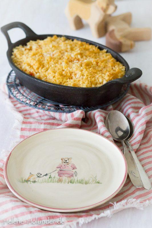 Vegane Oven Mac n Cheese, Helene Holunder