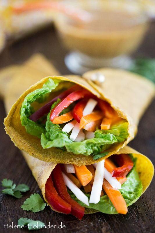 Mango Wraps aus dem Buch Everyday Raw, vegan, Helene Holunder