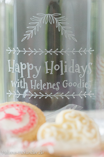 Happy Holidays Goodies, vegan, Helene Holunder