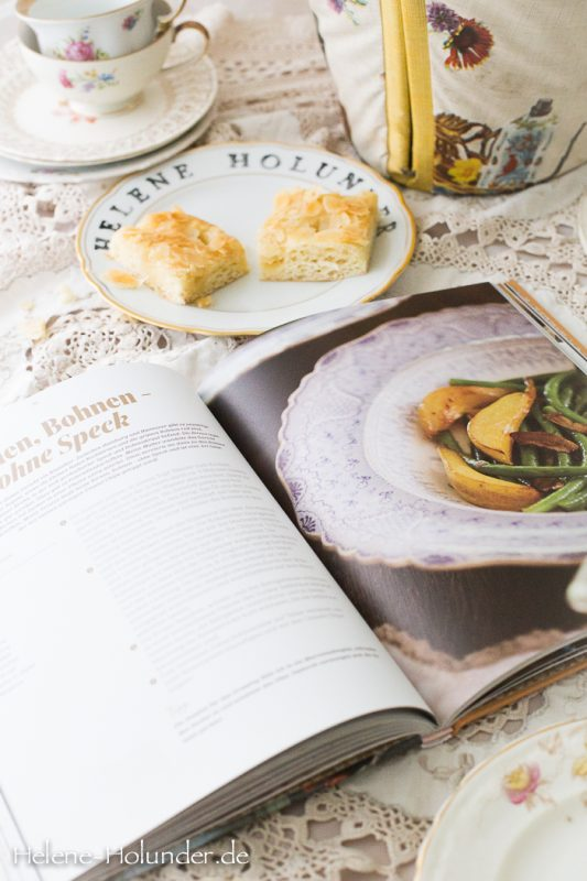 Butterkuchen und Quittenbrot, vegan, Helene Holunder