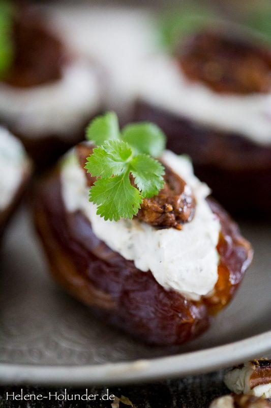 Schnelles Fingerfood: Dattelkonfekt für Helene