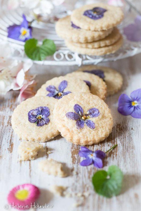 Veilchen für Flower Cookies