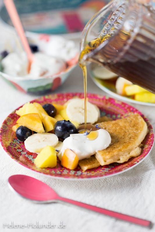 Pancakes, vegan, Helene Holunder