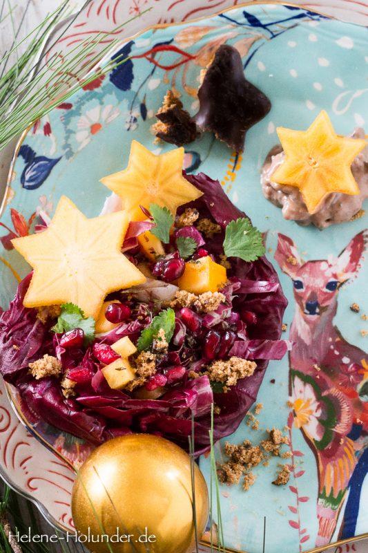radicchio-salat-lebkuchen-mayonnaise-vegan-helene-holunder